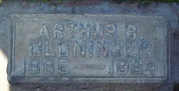 CLONINGER, ARTHUR B. - Sutter County, California   ARTHUR B. CLONINGER - California Gravestone Photos