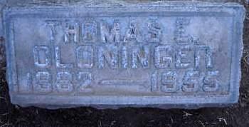 CLONINGER, THOMAS ELVIE - Sutter County, California   THOMAS ELVIE CLONINGER - California Gravestone Photos