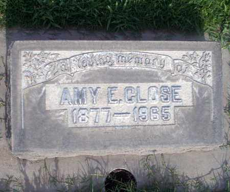 CLOSE, AMY E. - Sutter County, California | AMY E. CLOSE - California Gravestone Photos