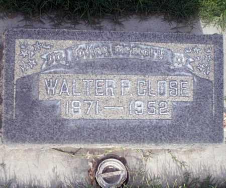 CLOSE, WALTER P. - Sutter County, California | WALTER P. CLOSE - California Gravestone Photos