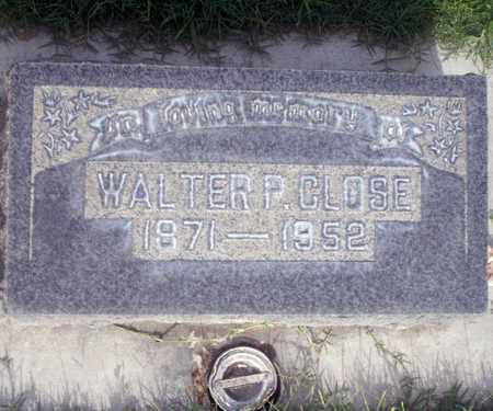 CLOSE, WALTER P. - Sutter County, California | WALTER P. CLOSE - California Gravestone Photos