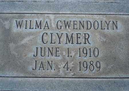 CLYMER, WILMA GWENDOLYN - Sutter County, California | WILMA GWENDOLYN CLYMER - California Gravestone Photos