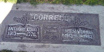 CORRELL, NORMA LEONA DIHEL - Sutter County, California   NORMA LEONA DIHEL CORRELL - California Gravestone Photos