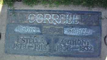 CORRELL, ESTELLA - Sutter County, California | ESTELLA CORRELL - California Gravestone Photos