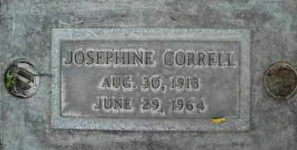 CORRELL, JOSEPHINE - Sutter County, California | JOSEPHINE CORRELL - California Gravestone Photos