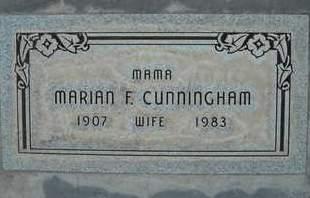 CUNNINGHAM, MARIAN FAYE - Sutter County, California   MARIAN FAYE CUNNINGHAM - California Gravestone Photos