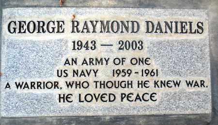 DANIELS, GEORGE RAYMOND - Sutter County, California   GEORGE RAYMOND DANIELS - California Gravestone Photos