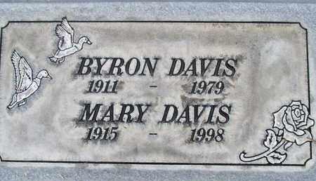 DAVIS, BYRON EDWIN - Sutter County, California | BYRON EDWIN DAVIS - California Gravestone Photos