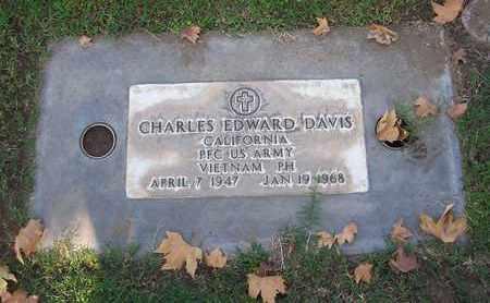 DAVIS, CHARLES EDWARD - Sutter County, California | CHARLES EDWARD DAVIS - California Gravestone Photos