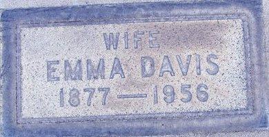 DAVIS, EMMA - Sutter County, California | EMMA DAVIS - California Gravestone Photos