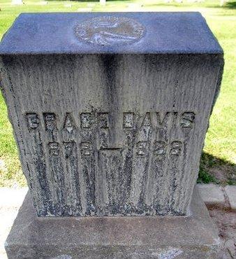 DAVIS, GRACE - Sutter County, California | GRACE DAVIS - California Gravestone Photos