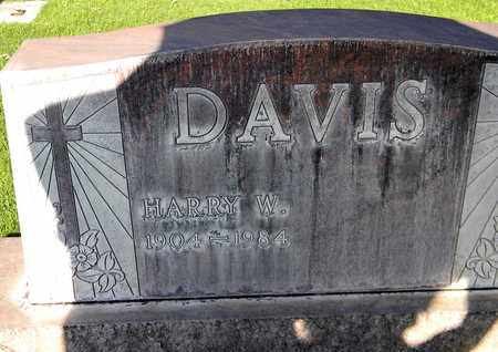 DAVIS, HARRY WILLIAM - Sutter County, California | HARRY WILLIAM DAVIS - California Gravestone Photos
