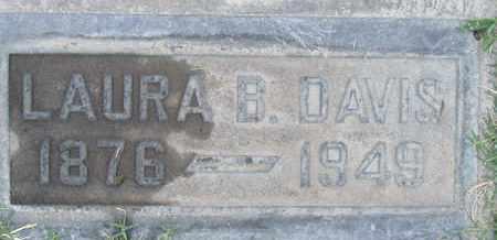 DAVIS, LAURA BELLE - Sutter County, California | LAURA BELLE DAVIS - California Gravestone Photos