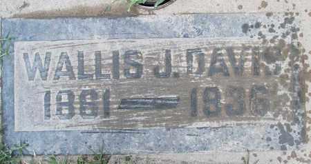 DAVIS, WALLIS JAMES - Sutter County, California   WALLIS JAMES DAVIS - California Gravestone Photos