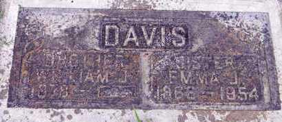 DAVIS, WILLIAM J. - Sutter County, California   WILLIAM J. DAVIS - California Gravestone Photos
