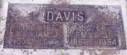 DAVIS, EMMA J. - Sutter County, California | EMMA J. DAVIS - California Gravestone Photos