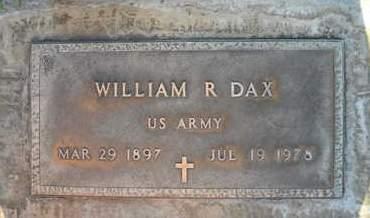 DAX, WILLIAM RANDOLPH - Sutter County, California   WILLIAM RANDOLPH DAX - California Gravestone Photos