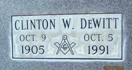 DEWITT, CLINTON W. - Sutter County, California | CLINTON W. DEWITT - California Gravestone Photos