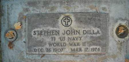 DILLA, STEPHEN JOHN - Sutter County, California | STEPHEN JOHN DILLA - California Gravestone Photos
