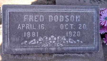 DODSON, FRED - Sutter County, California | FRED DODSON - California Gravestone Photos
