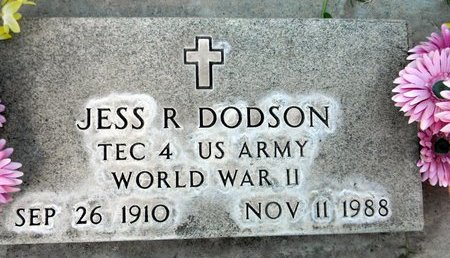 DODSON, JESS R. - Sutter County, California | JESS R. DODSON - California Gravestone Photos