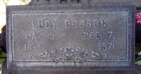 DODSON, LUCY - Sutter County, California | LUCY DODSON - California Gravestone Photos
