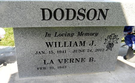 DODSON, WILLIAM JAMES - Sutter County, California | WILLIAM JAMES DODSON - California Gravestone Photos