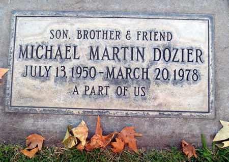 DOZIER, MICHAEL MARTIN - Sutter County, California | MICHAEL MARTIN DOZIER - California Gravestone Photos