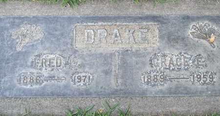 DRAKE, FRED E. - Sutter County, California | FRED E. DRAKE - California Gravestone Photos