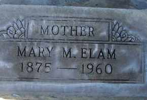 ELAM, MARY MAGDALENE - Sutter County, California   MARY MAGDALENE ELAM - California Gravestone Photos
