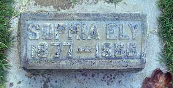ELY, SOPHIA - Sutter County, California | SOPHIA ELY - California Gravestone Photos