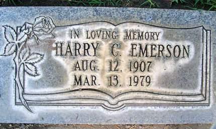 EMERSON, HARRY CLARK - Sutter County, California | HARRY CLARK EMERSON - California Gravestone Photos
