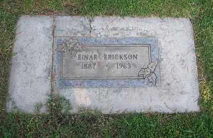 ERICKSON, EINAR - Sutter County, California | EINAR ERICKSON - California Gravestone Photos