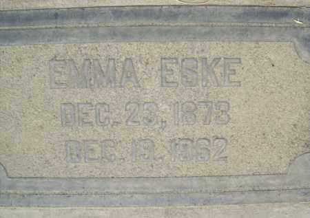 ESKE, EMMA CAROLINE - Sutter County, California | EMMA CAROLINE ESKE - California Gravestone Photos