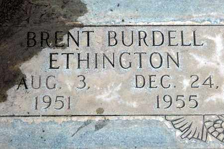 ETHINGTON, BRENT BURDELL - Sutter County, California | BRENT BURDELL ETHINGTON - California Gravestone Photos