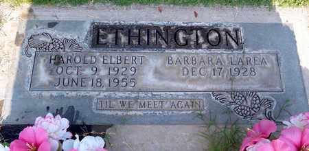 ETHINGTON, HAROLD ELBERT - Sutter County, California | HAROLD ELBERT ETHINGTON - California Gravestone Photos