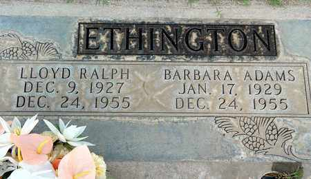ETHINGTON, LLOYD RALPH - Sutter County, California | LLOYD RALPH ETHINGTON - California Gravestone Photos