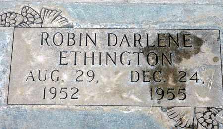 ETHINGTON, ROBIN DARLENE - Sutter County, California | ROBIN DARLENE ETHINGTON - California Gravestone Photos