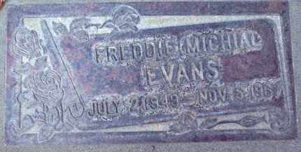 EVANS, FRED MICHIAL - Sutter County, California | FRED MICHIAL EVANS - California Gravestone Photos