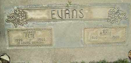 EVANS, JAMES ROSWELL - Sutter County, California | JAMES ROSWELL EVANS - California Gravestone Photos