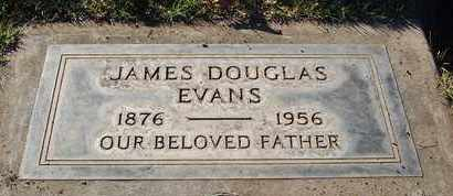 EVANS, JAMES DOUGLAS - Sutter County, California | JAMES DOUGLAS EVANS - California Gravestone Photos