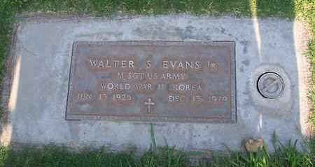 EVANS, JR., WALTER STANLEY - Sutter County, California | WALTER STANLEY EVANS, JR. - California Gravestone Photos