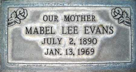 EVANS, MABEL LEE - Sutter County, California   MABEL LEE EVANS - California Gravestone Photos