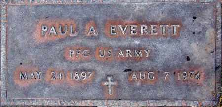 EVERETT, PAUL ADELHERT - Sutter County, California | PAUL ADELHERT EVERETT - California Gravestone Photos