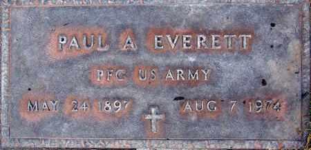 EVERETT, PAUL ADELHERT - Sutter County, California | PAUL ADELHERT EVERETT - California Gravestone Photos
