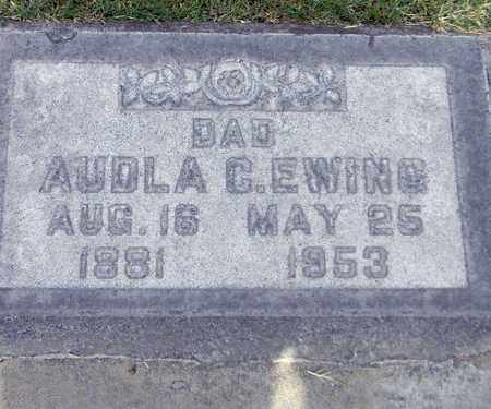 EWING, AUDLA C. - Sutter County, California | AUDLA C. EWING - California Gravestone Photos