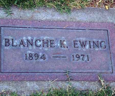 EWING, BLANCHE K. - Sutter County, California | BLANCHE K. EWING - California Gravestone Photos