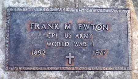 EWTON, FRANK MALONE - Sutter County, California | FRANK MALONE EWTON - California Gravestone Photos