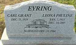 EYRING, LEONA PAULINE - Sutter County, California | LEONA PAULINE EYRING - California Gravestone Photos
