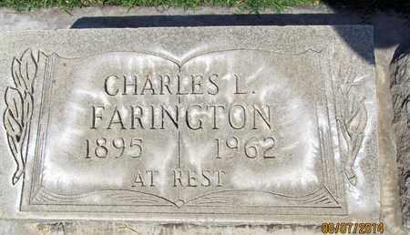 FARINGTON, CHARLES L. - Sutter County, California   CHARLES L. FARINGTON - California Gravestone Photos